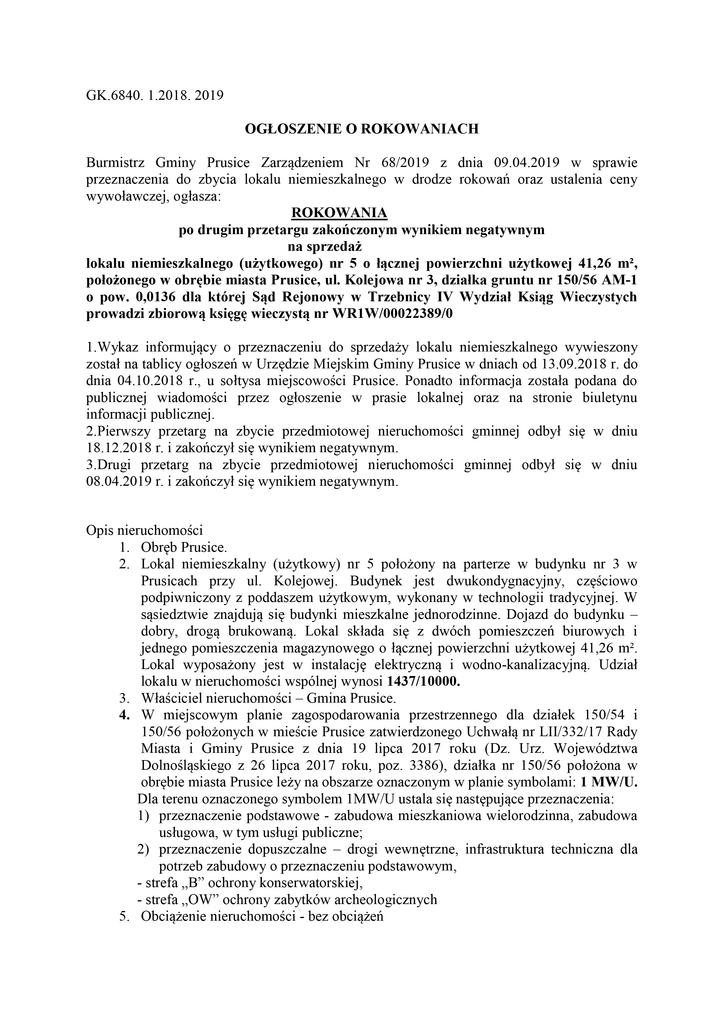 Ogłoszenie I rokowań - Kolejowa 3-5 str1-01.jpeg