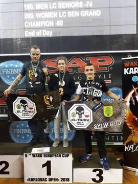 Galeria WAKO European Cup Karlovac 2018 w Chorwacji