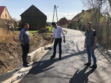 Galeria Przebudowa drogi gminnej w Brzeźnie została już zakończona