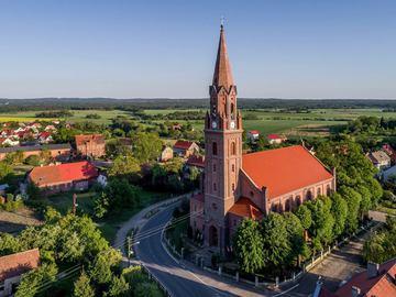 Galeria Gmina Prusice w obiektywie Dronawiator