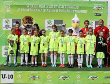 Galeria Piłkarki ze Skokowej zagrały na Stadionie Narodowym reprezentując Dolny Śląsk