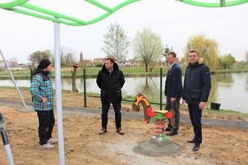 Galeria Na terenie Gminy Prusice powstają nowe tereny rekreacyjne