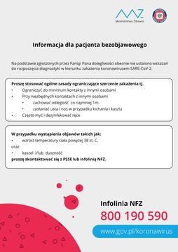 Galeria 2020 koronawirus informacje dla pacjenta