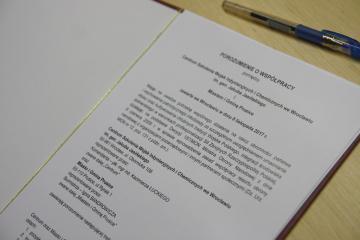 Galeria Aktualności - Podpisano porozumienie o współpracy