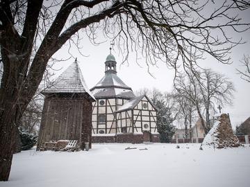 Galeria Kościół w Pawłowie Trzebnickim